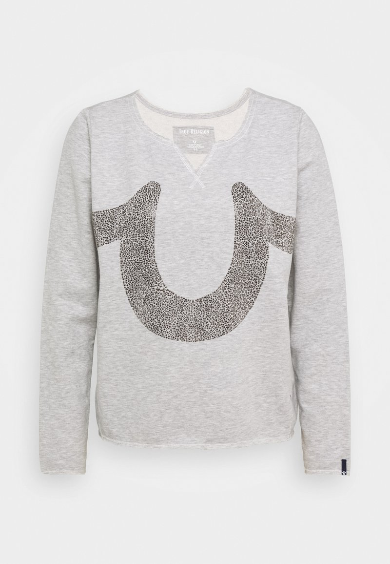 True Religion - CREW HORSESHOE - Sweatshirt - grey