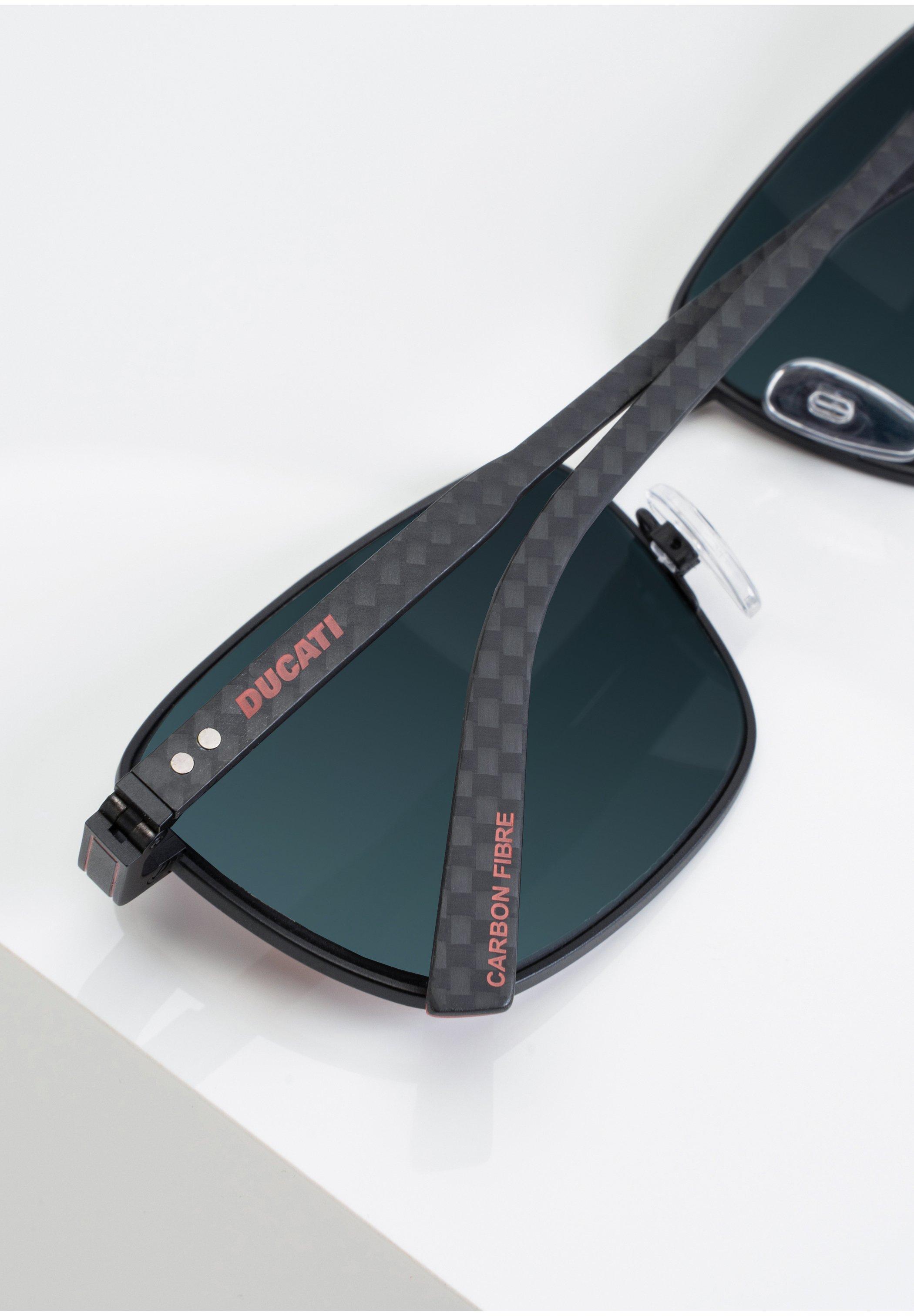 DUCATI Eyewear SONNENBRILLE DA7014 - Sonnenbrille - black/schwarz - Herrenaccessoires 3vgae
