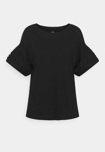 EASY BELL - Basic T-shirt - true black