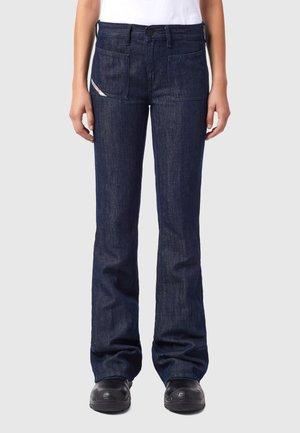 D-EBBEY - Bootcut jeans - dark blue