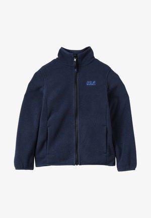 BAKSMALLA JACKET KIDS - Fleece jacket - midnight blue