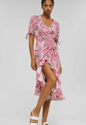 Batik-Look aus - Day dress - pink