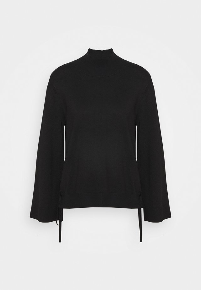 SIDE BRAID SPECIAL - Pullover - black