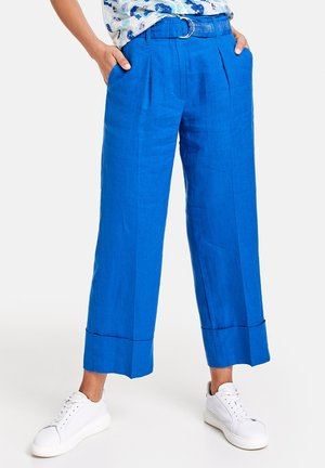 Trousers - blue lagoon
