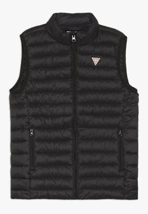 JUNIOR UNISEX PADDED CORE - Waistcoat - jet black