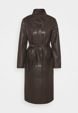 CORALINE  - Classic coat - dark chokolate
