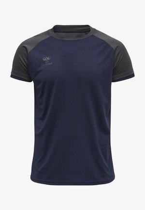 Basic T-shirt - marine/asphalt