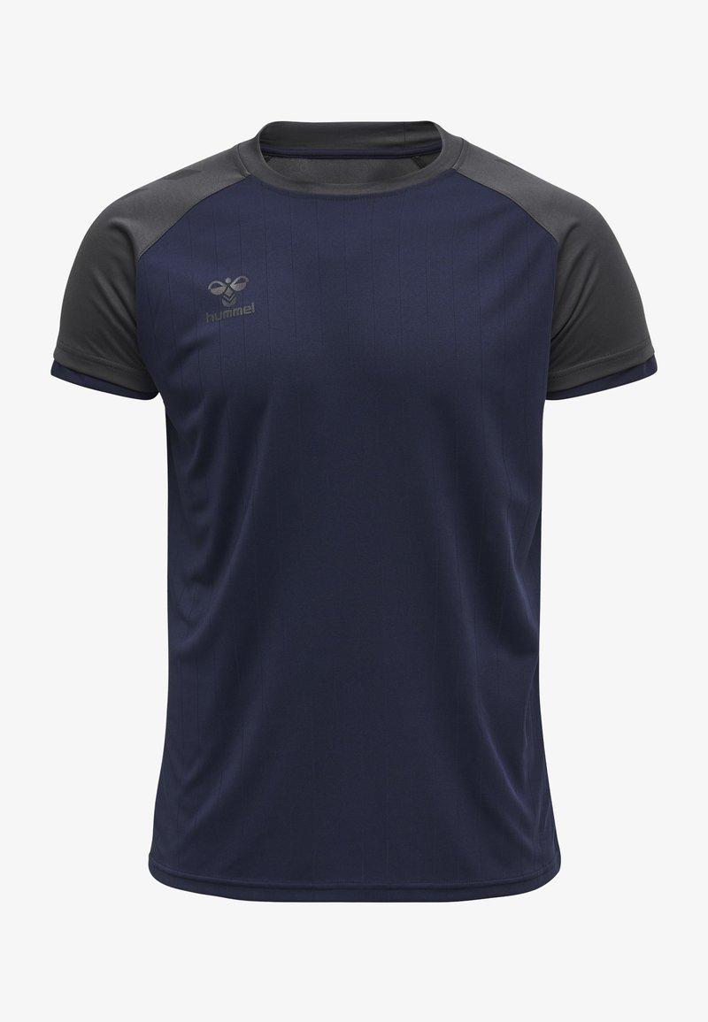 Hummel - Basic T-shirt - marine/asphalt