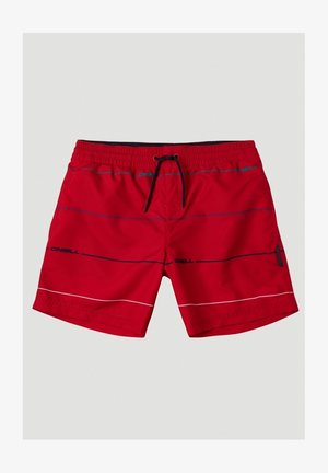 Swimming shorts - red with