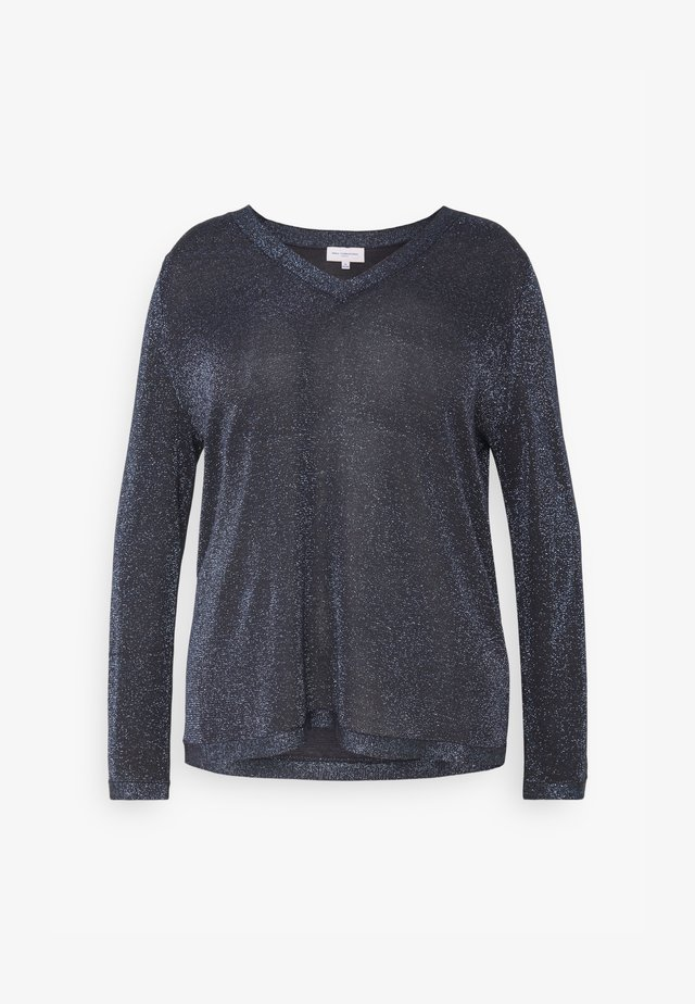 CARMAGGIE V NECK - Maglione - night sky/ glitter