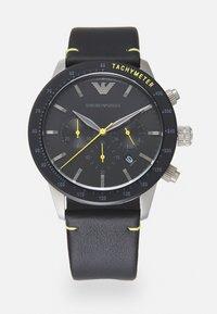 Emporio Armani - MARIO - Kronografklockor - black - 0