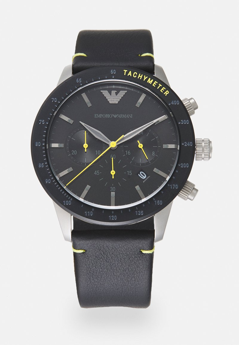 Emporio Armani - MARIO - Kronografklockor - black