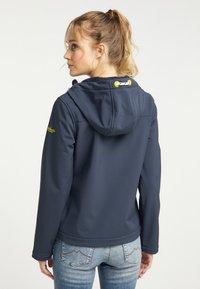 Schmuddelwedda - Soft shell jacket - marine - 2