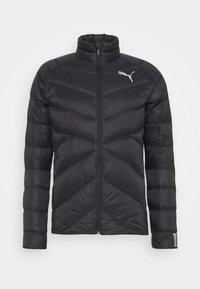 WARM PACKLITE - Down jacket - black