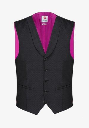 CG PHILIPP - Suit waistcoat - schwarz