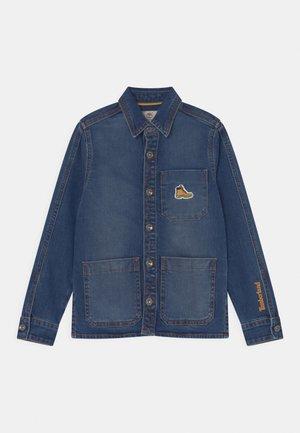 LONG SLEEVED  - Shirt - blue denim