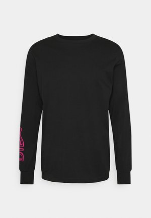 T-JUST-LS-A7 UNISEX - Long sleeved top - black