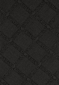 Emporio Armani - BASE TIE - Tie - black - 2