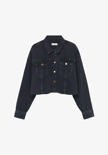 Jeansjacke - black denim