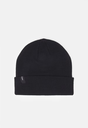 JACCOLOUR SHORT BEANIE - Berretto - anthracite