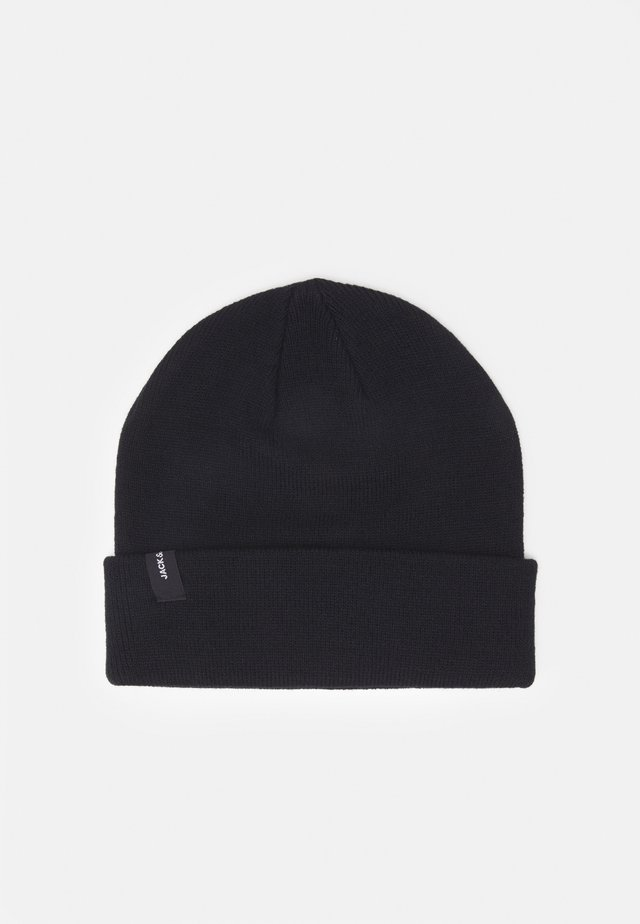 JACCOLOUR SHORT BEANIE - Čepice - anthracite