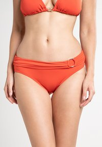MICHAEL Michael Kors - ICONIC SOLIDS BIKINI BOTTOM - Braguita de bikini - orange - 0