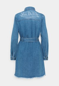 Von Dutch - KYRIE - Denim dress - blue denim - 1