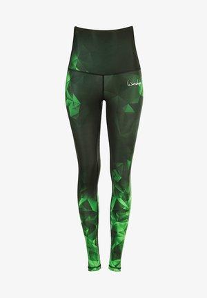 HWL102 RUBIN HIGH WAIST -TIGHTS - Leggings - smaragd