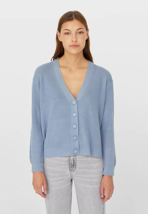 BASIC - Cardigan - blue