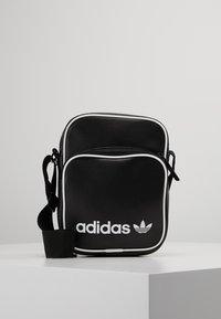 adidas Originals - MINI BAG VINT - Across body bag - black - 0