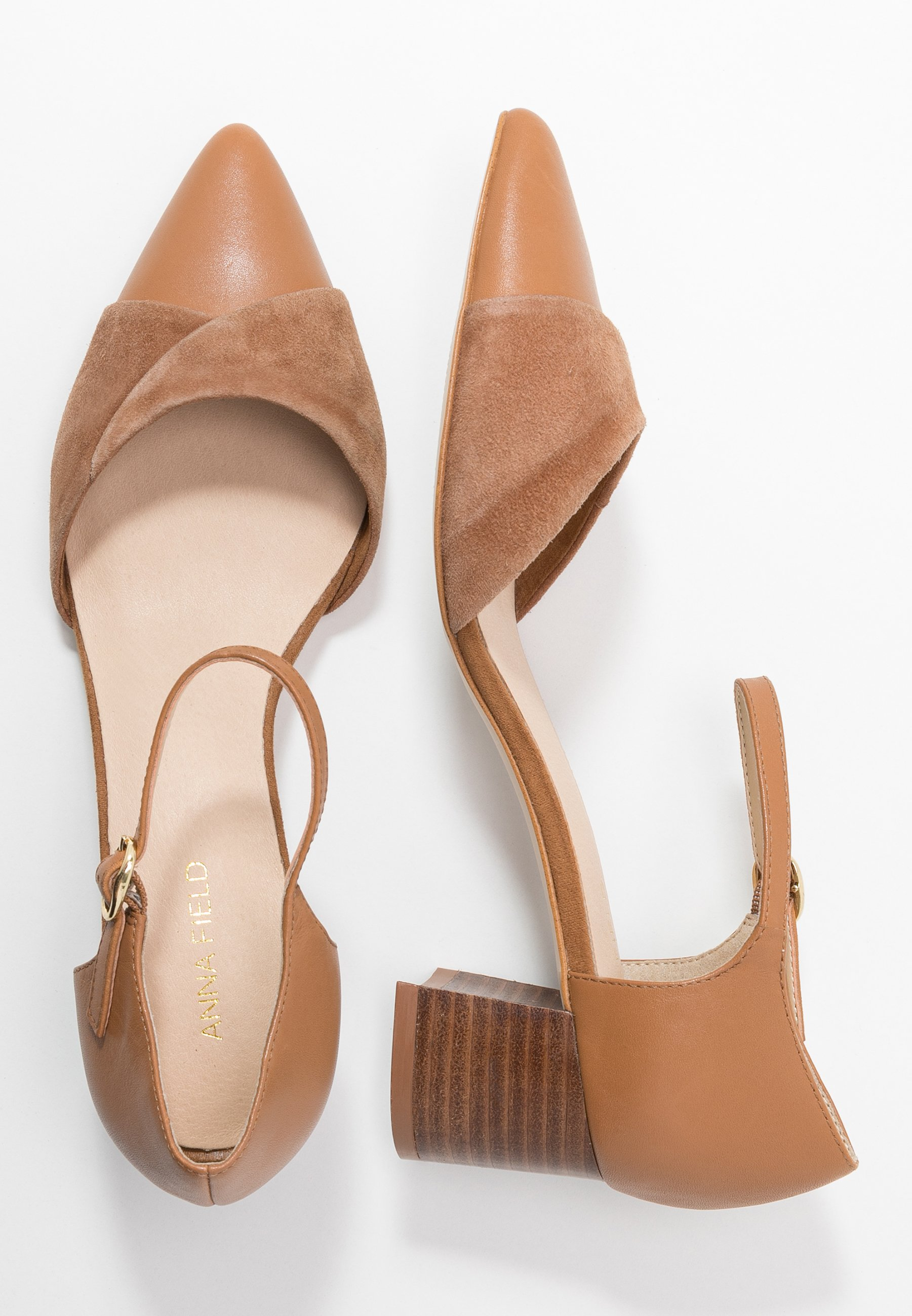 Anna Field Klassiske pumps - camel
