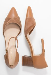 Anna Field - LEATHER CLASSIC-HEELS - Klassieke pumps - camel - 3