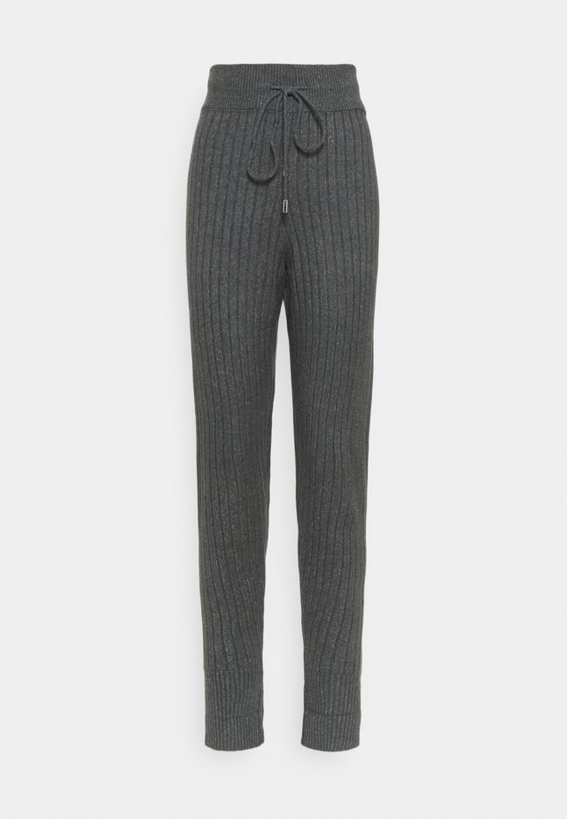 AROUND THE CLOCK  - Pantalones - charcoal
