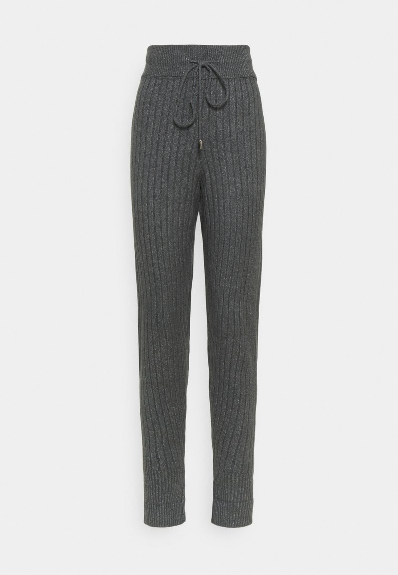 Free People - AROUND THE CLOCK  - Trousers - charcoal