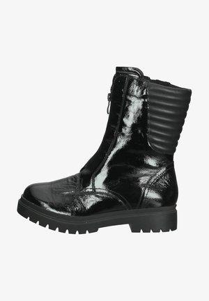 Korte laarzen - black naplak c