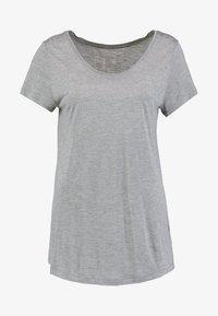 LUXE - Jednoduché triko - light heather grey