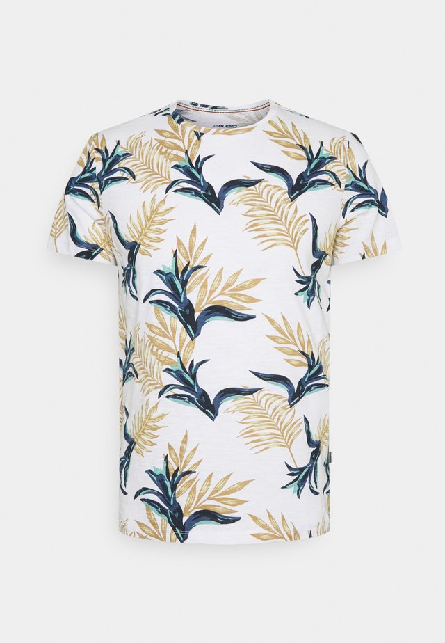 TEE - T-shirts med print - bright white