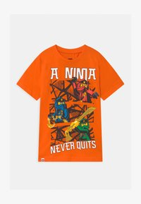 LEGO Wear - Print T-shirt - orange - 0