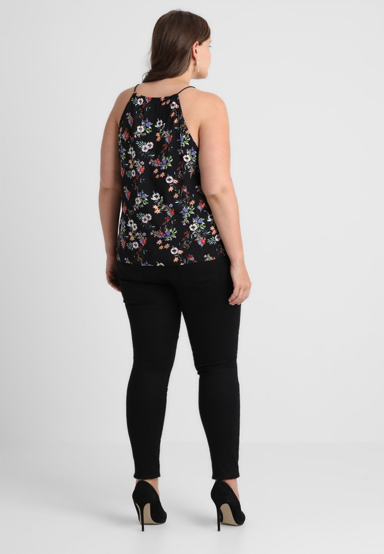 Zizzi LONG AMY - Jeans Skinny Fit - black - Women's Clothing ZaXZJ