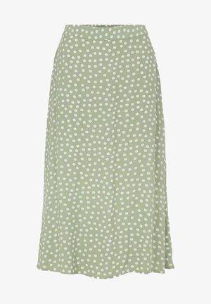 A-line skirt - desert sage