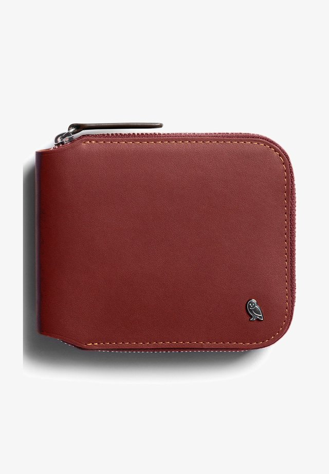 ZIP WALLET - Wallet - red earth