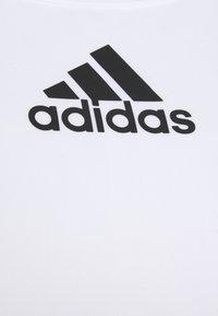 adidas Performance - BRA - Sujetadores deportivos con sujeción media - white - 2