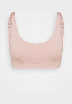 NATURAL SKIN - Bustier - rose teint