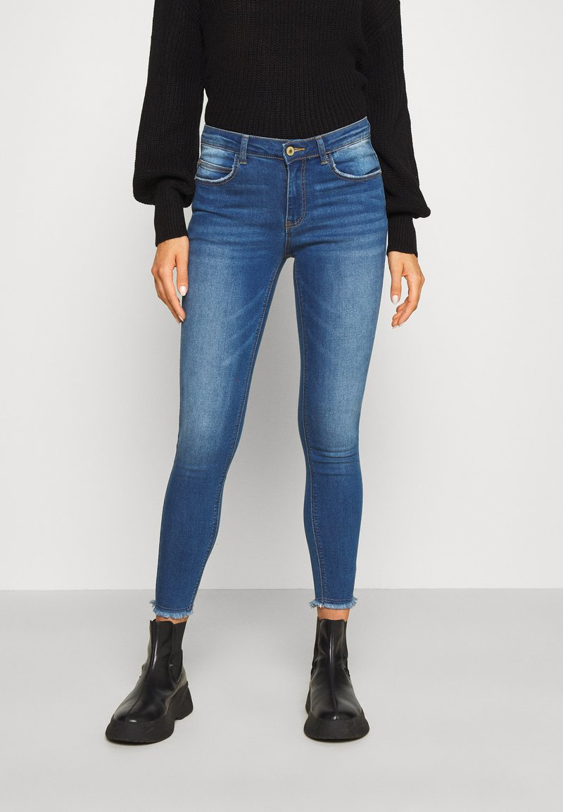 JDY - JDYSONJA LIFE - Jeans Skinny Fit - medium blue denim