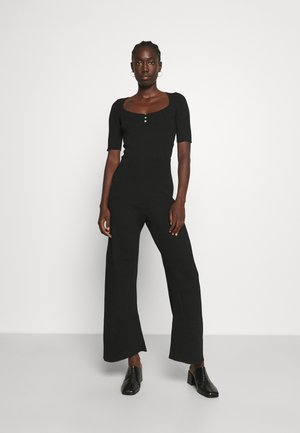 REAS - Overall / Jumpsuit /Buksedragter - black