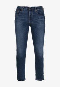 Levi's® - 501® CROP - Jeansy Straight Leg - charleston all day - 0