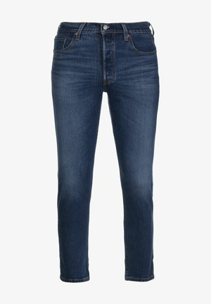 501® CROP - Jeansy Straight Leg - charleston all day