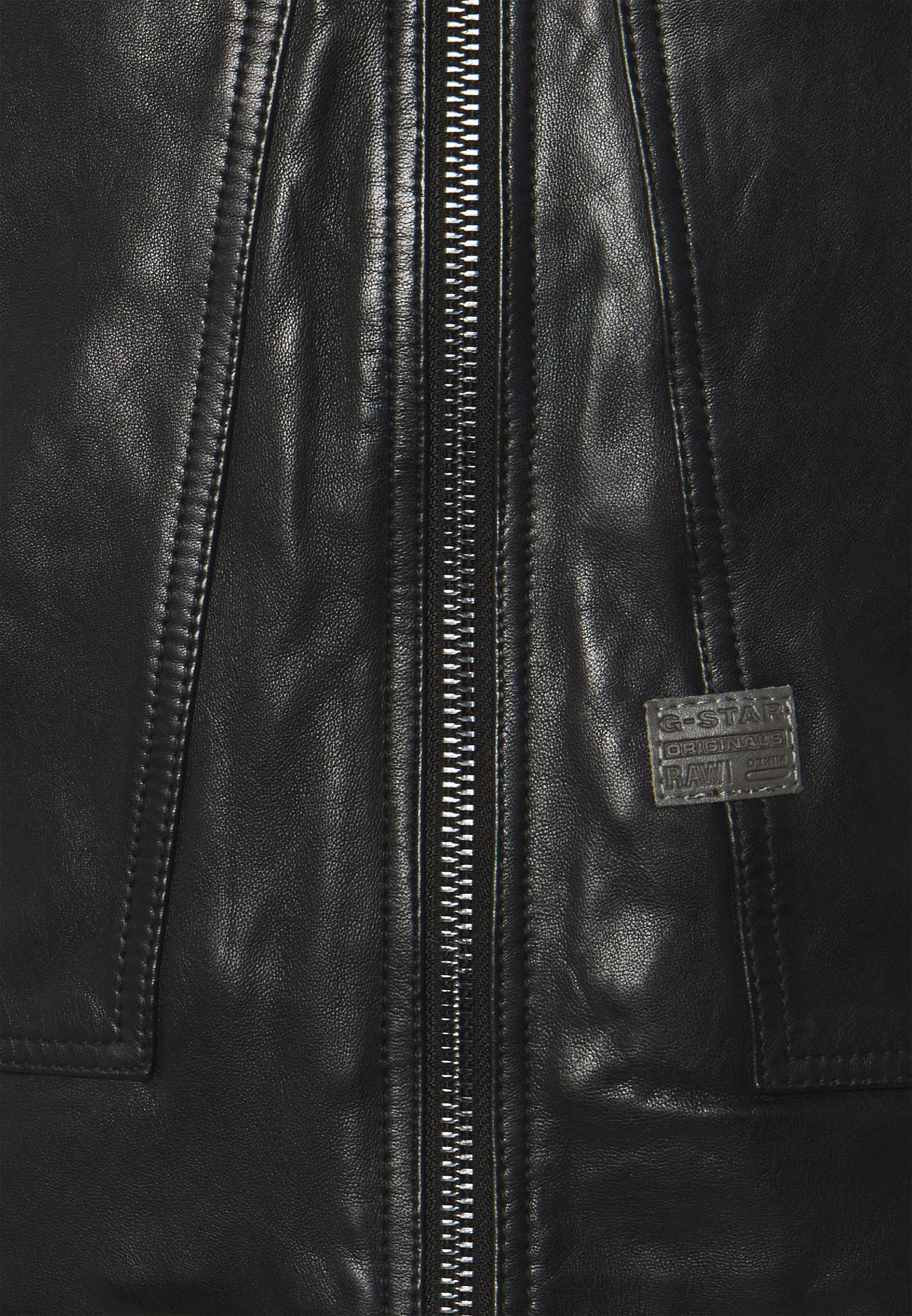 Men AIR FORCE - Leather jacket