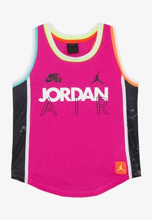 SCHOOL OF FLIGHT TANK - Top - fire pink