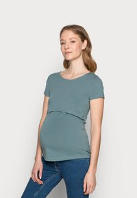 Anna Field MAMA - NURSING Basic T-shirt - Camiseta básica - goblinblue - 0